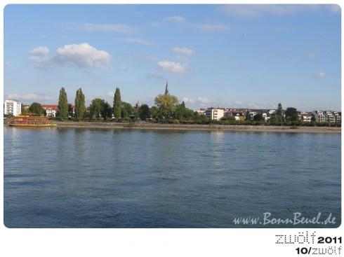 zwölf2011: Oktober - Beueler Rheinufer
