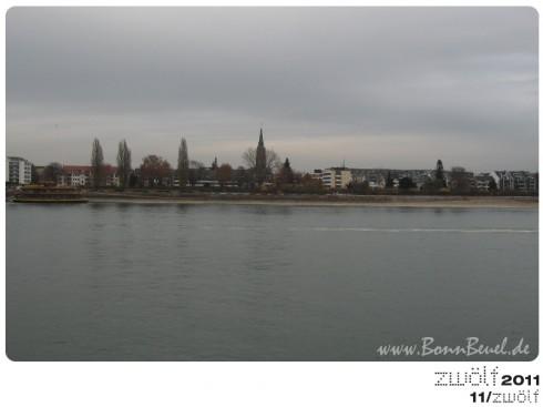 zwölf2011: November - Beueler Rheinufer