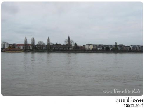 zwölf2011: Dezember - Beueler Rheinufer