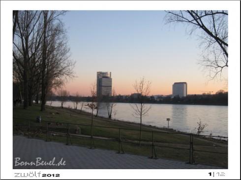 zwölf2012: Januar - Beueler Rheinufer