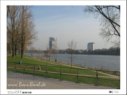 zwölf2012: März - Rheinufer in Beuel