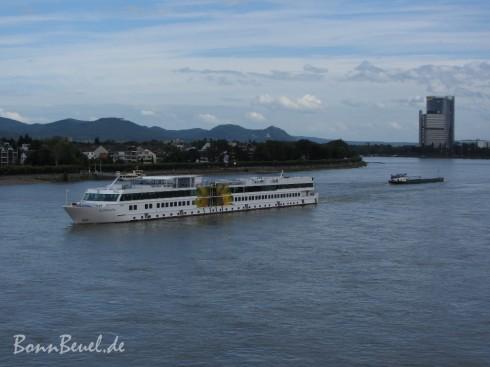 Erholung auf dem Rhein