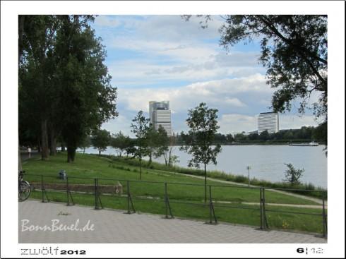 zwölf2012: Juni - Rheinufer in Beuel